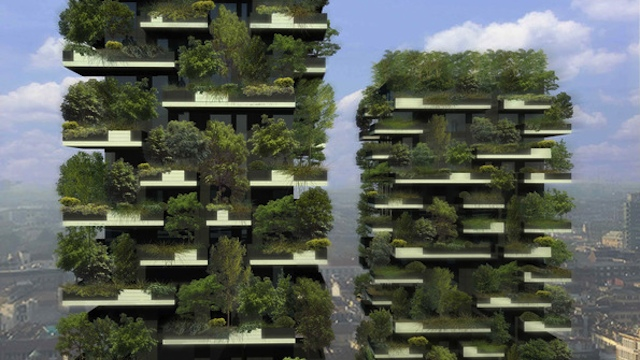 Eco Vertical Forests House