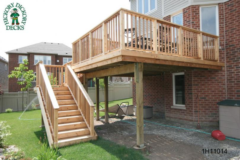 Elevated deck plan pictures design and ideas for Building a spec house