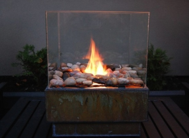 Fire Glass Pits Diy Design And Ideas