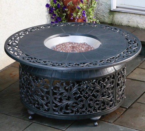 glass fire pits propane Design and Ideas