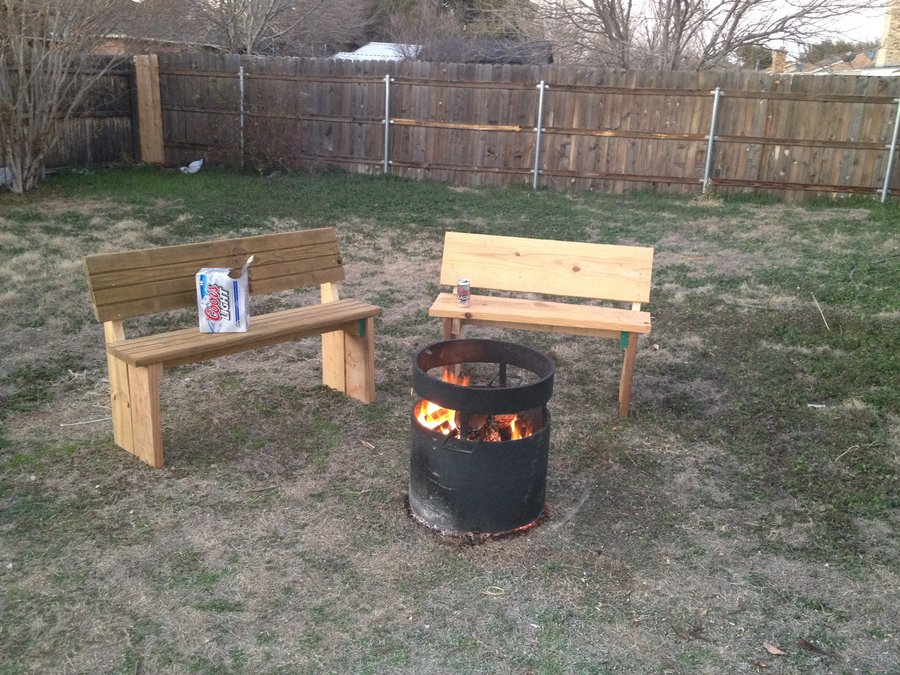 Outdoor Fire Pit Benches Design And Ideas