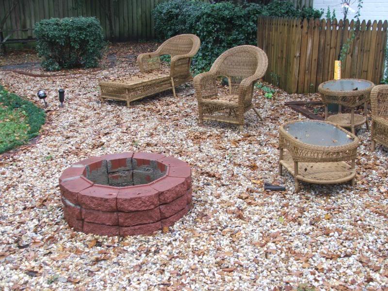 Fire Pit Brick Adhesive Photo   2