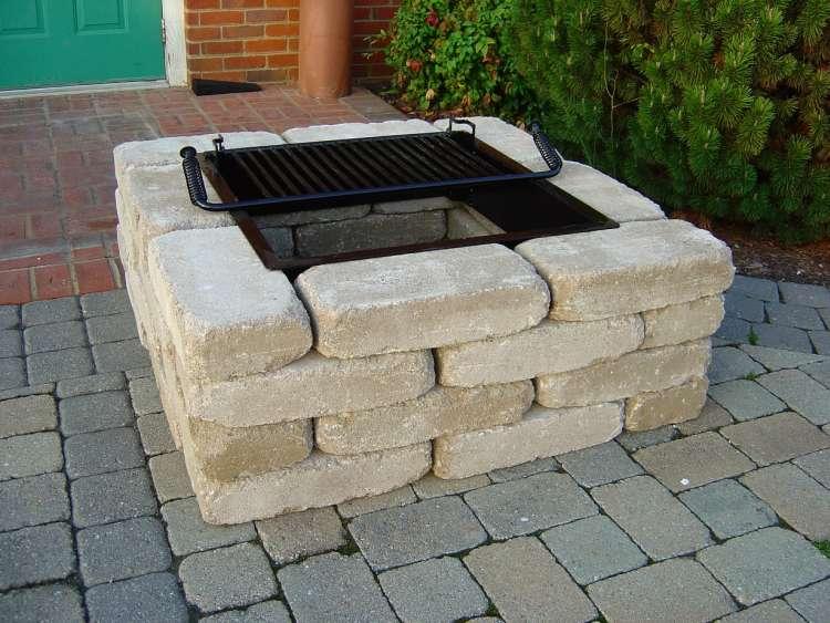 fire pit brick kit photo - 1 - Fire Pit Brick Kit » Design And Ideas