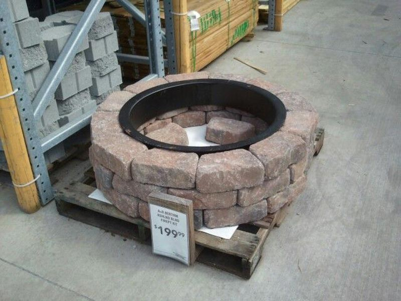 Lowe S Fire Clay Mortar : Clay fire pit lowes design and ideas