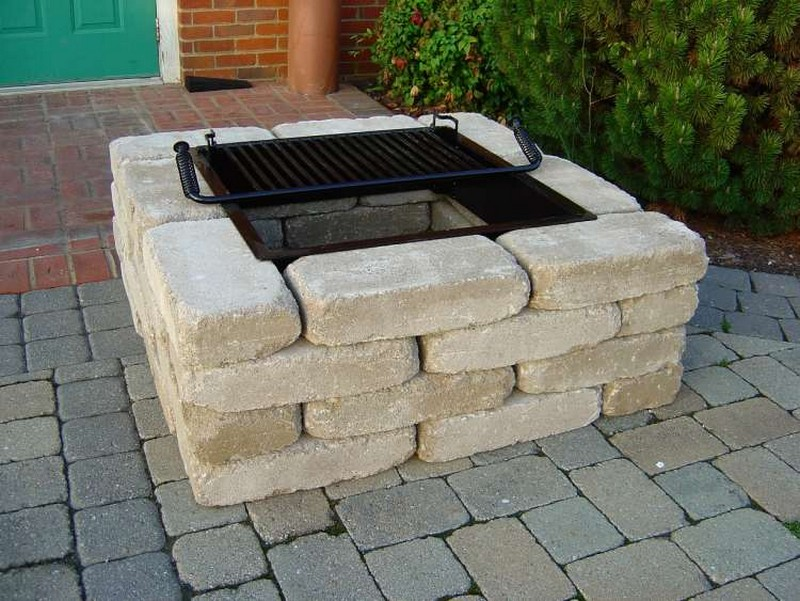 Exceptional Patio Fire Pit Ideas Fire Pit Design Ideas This Unique Gas Powered Fire  Feature Sits Atop