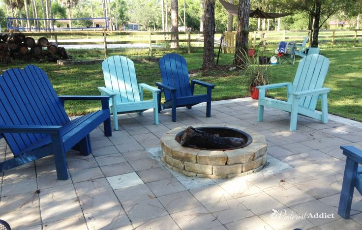 fire pit chairs lowes