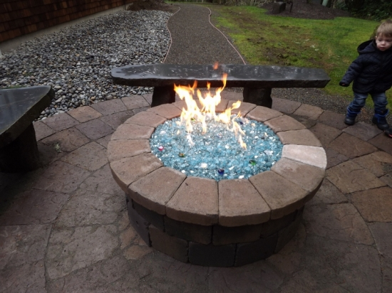 fire pit glass rocks amazon photo - 2 - Fire Pit Glass Rocks Amazon » Design And Ideas