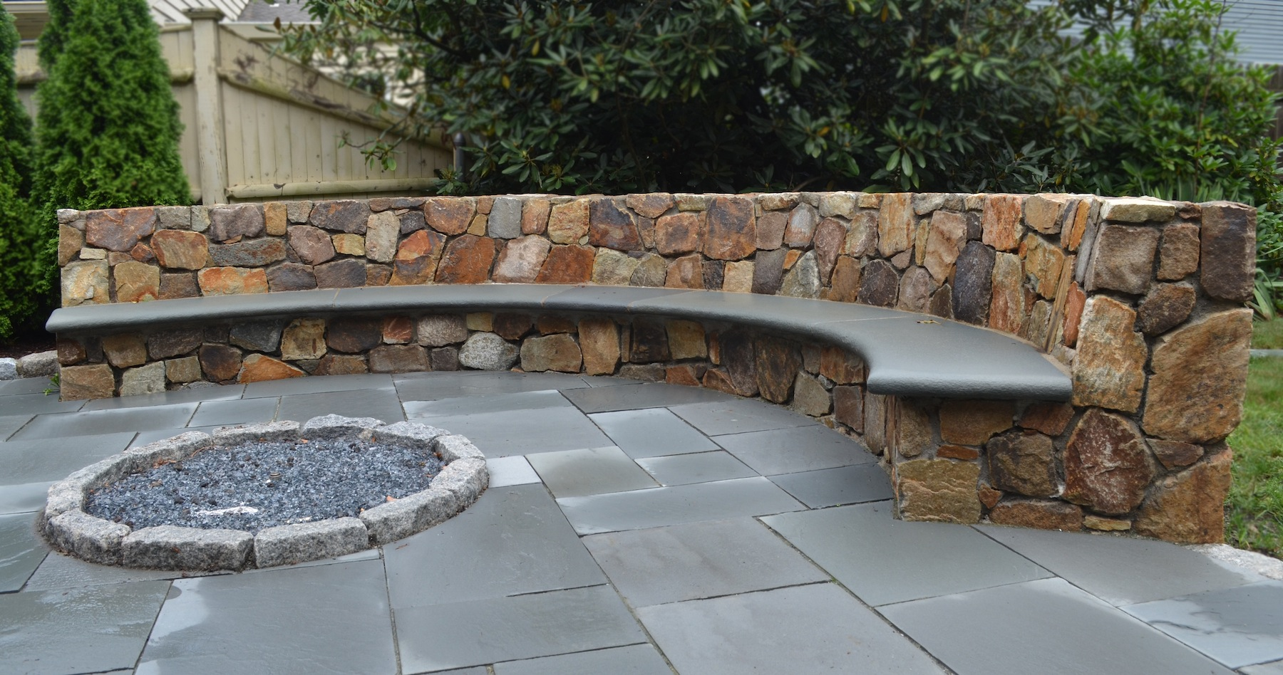 Fire Pit Patio Stones Photo   2