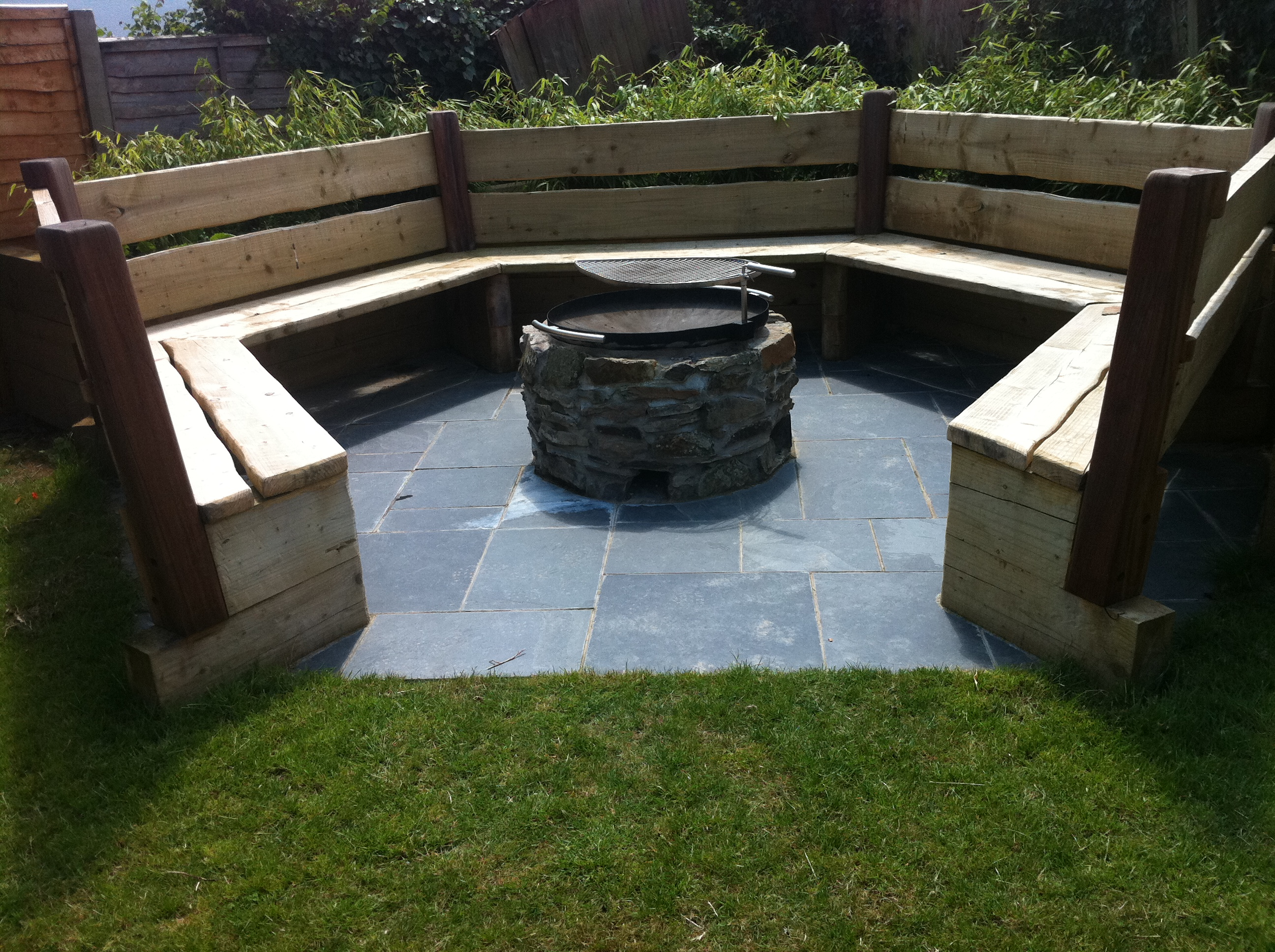 Fire Pit Seating Area Design Design And Ideas