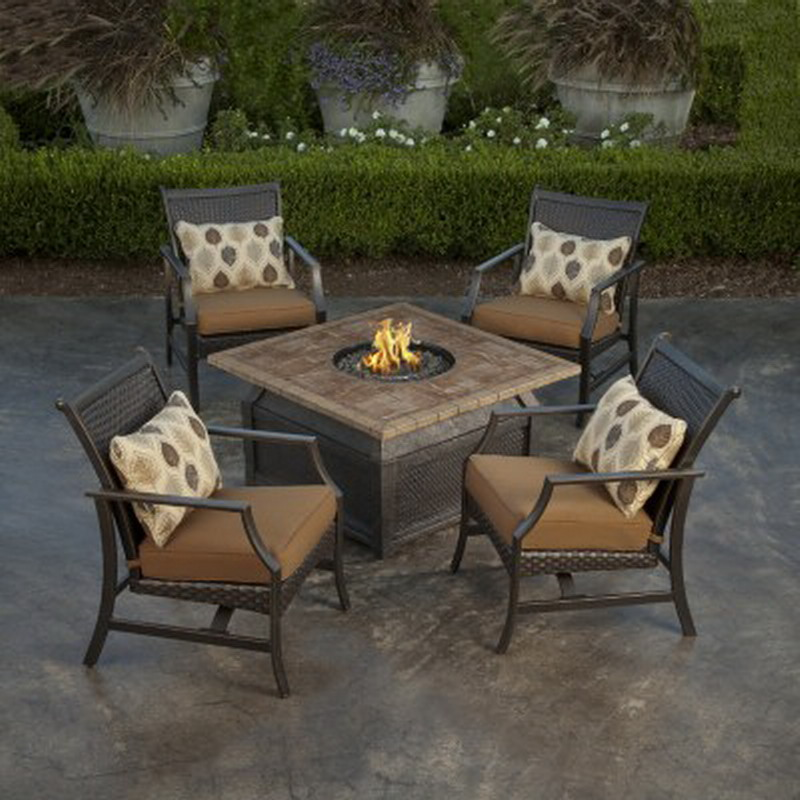 Costco Furniture Warehouse Seattle: Fire Pit Table And Chairs Set Costco » Design And Ideas