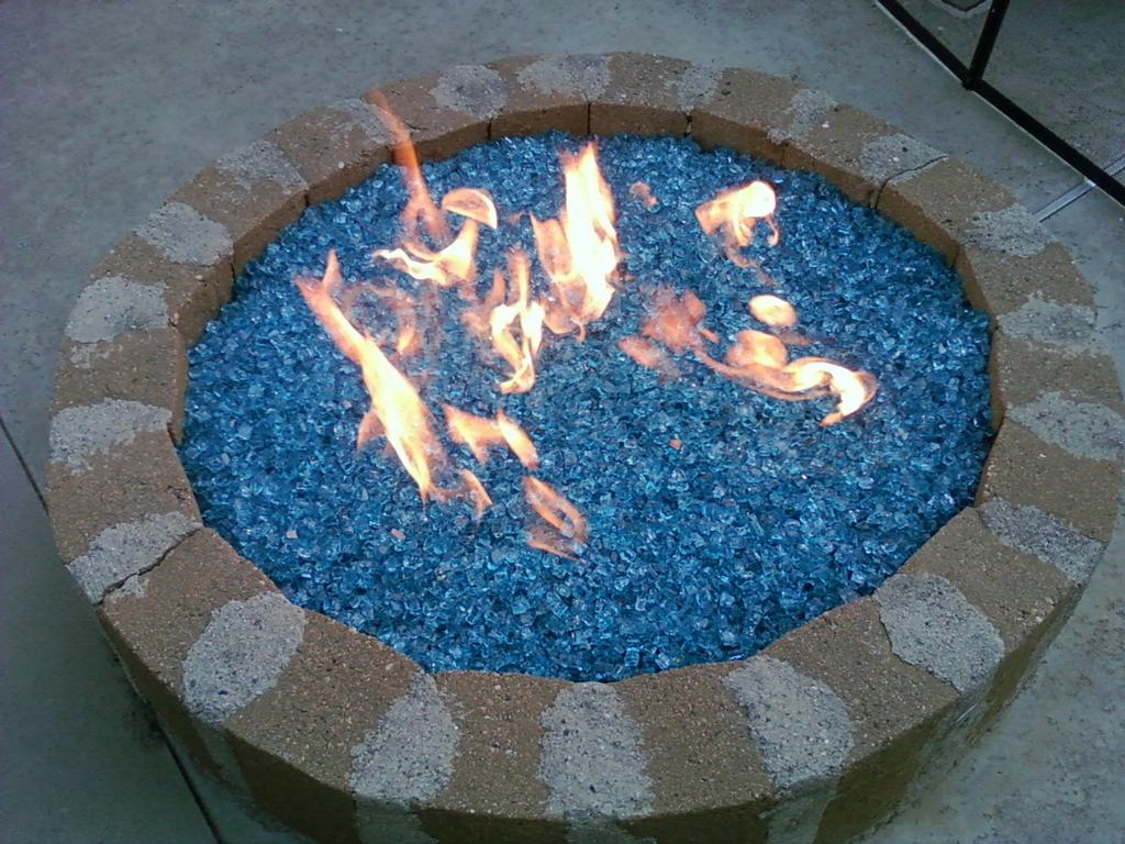 fire pits glass stones - Fire Pits Glass Stones » Design And Ideas