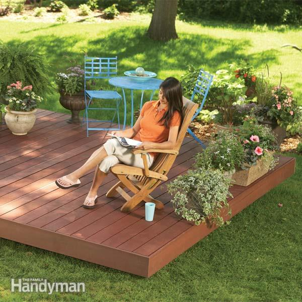 26 Floating Deck Design Ideas: Floating Deck Construction Plans » Design And Ideas