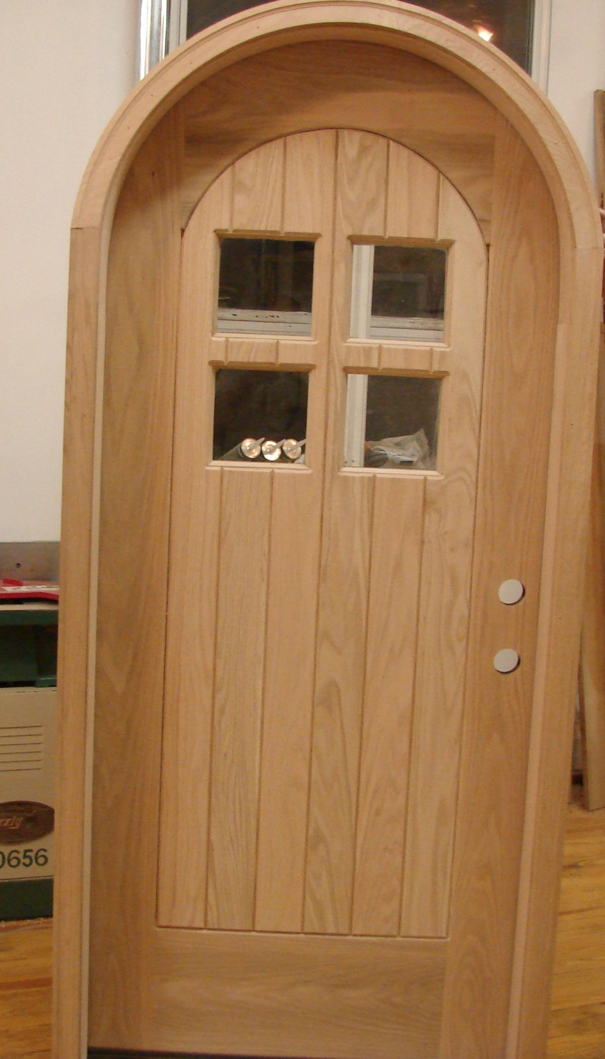 French Batten Door