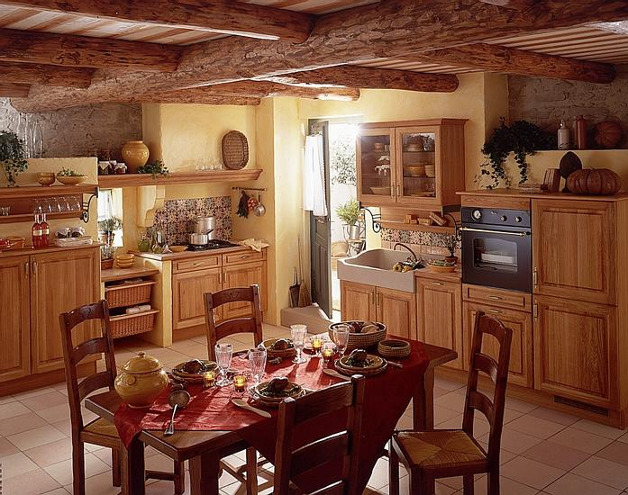 French country Chrome kitchen   photo - 3