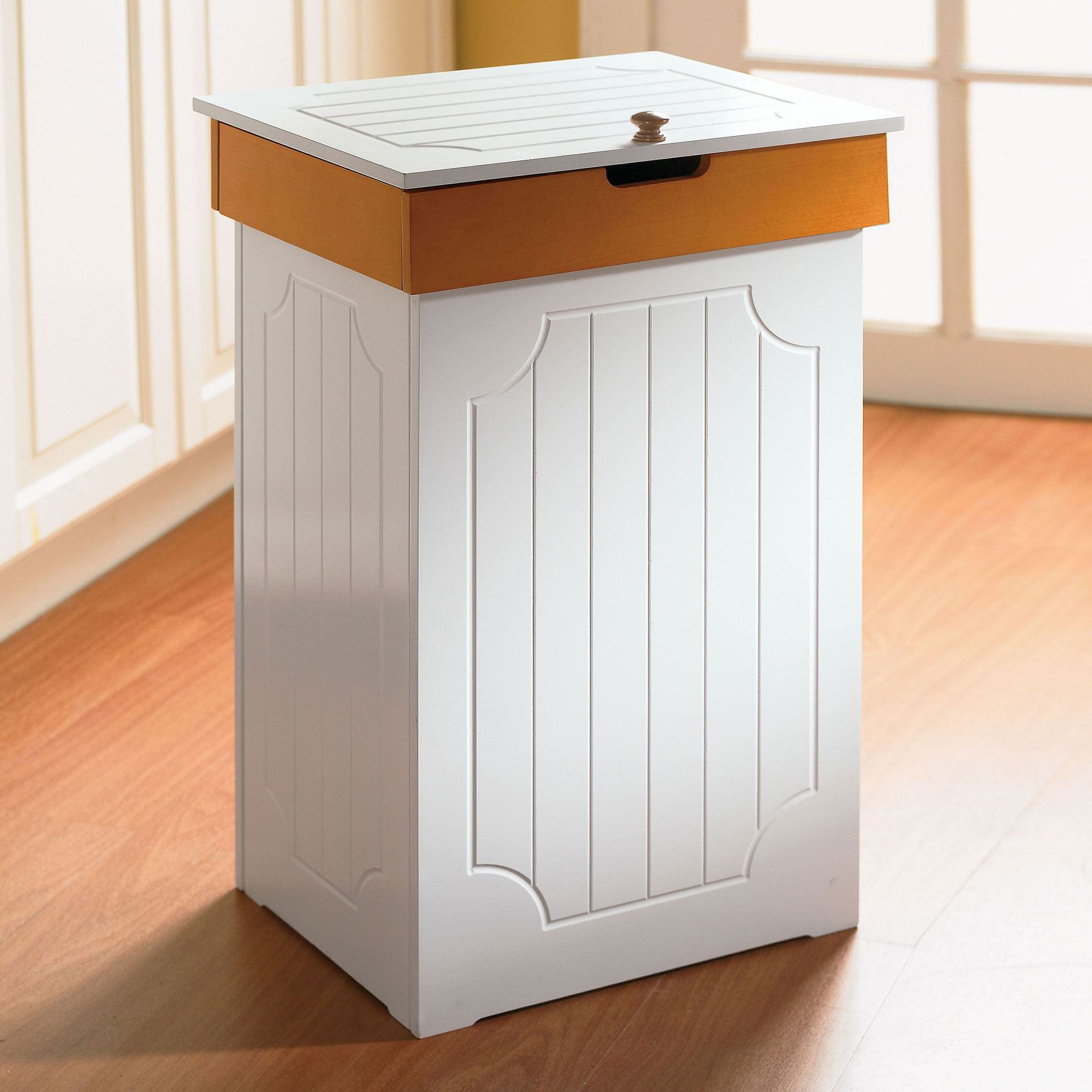 French country kitchen bins