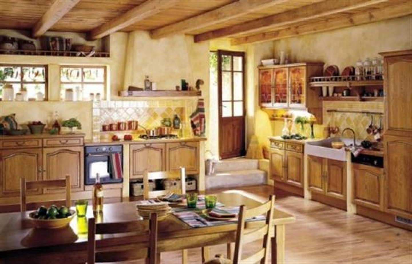 French country kitchen Blender