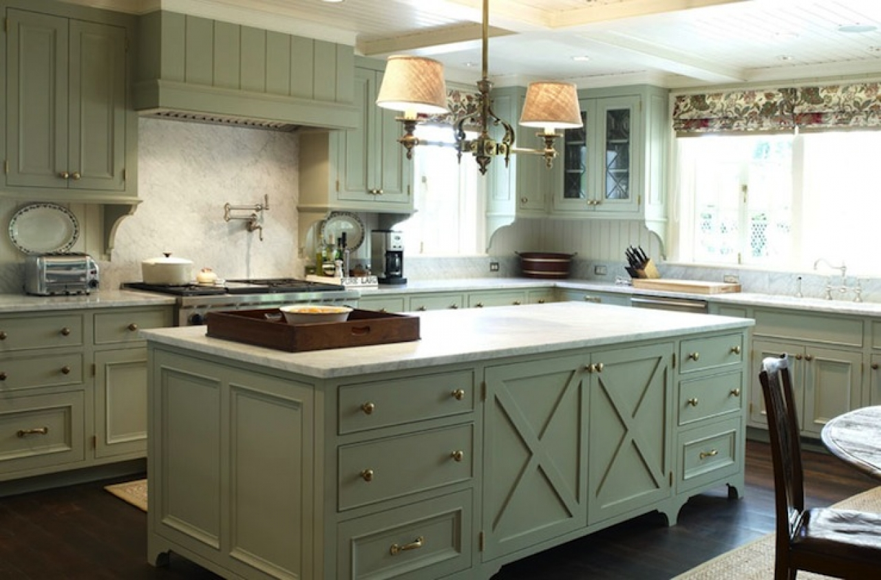 French Country Kitchen Cabinet Design And Ideas