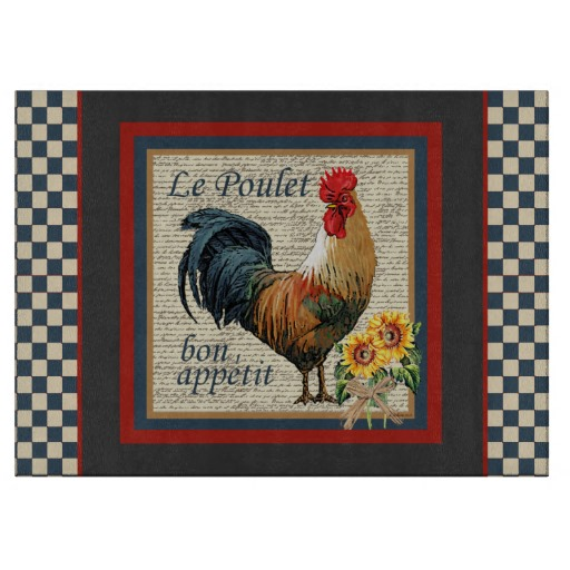 French country kitchen Cutting Board