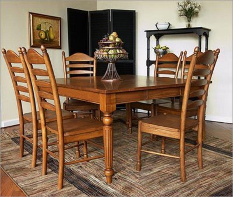 Country Kitchen Dining Set: French Country Kitchen