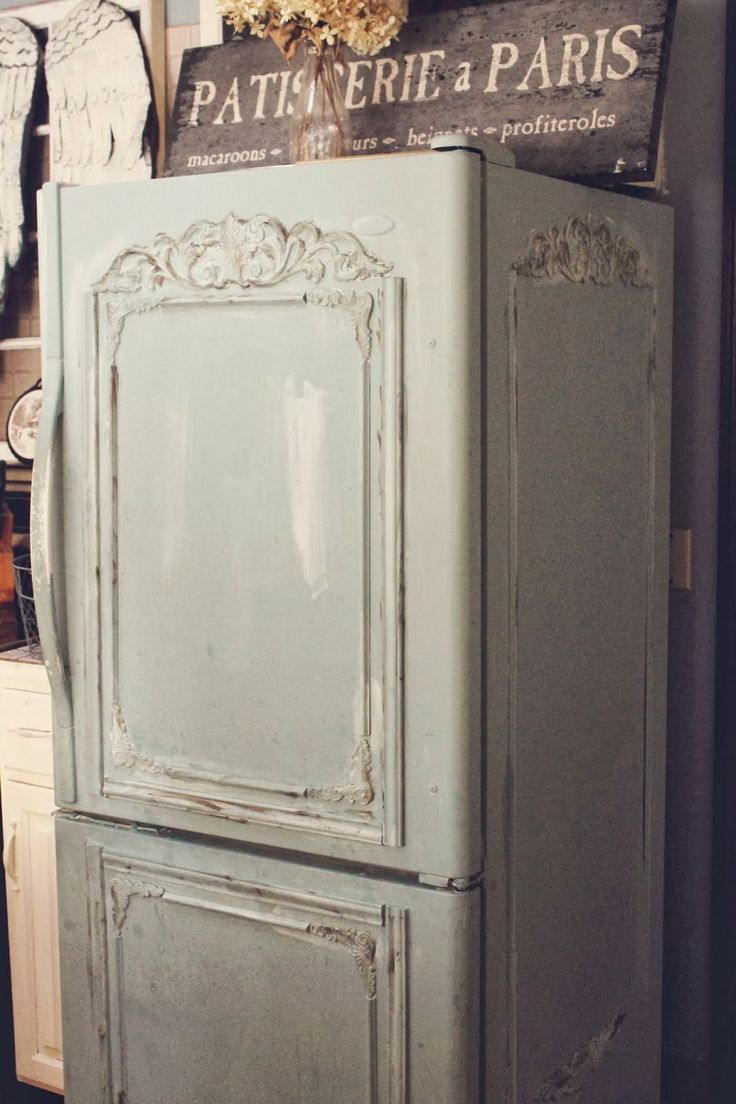 French country kitchen Fridge photo - 2