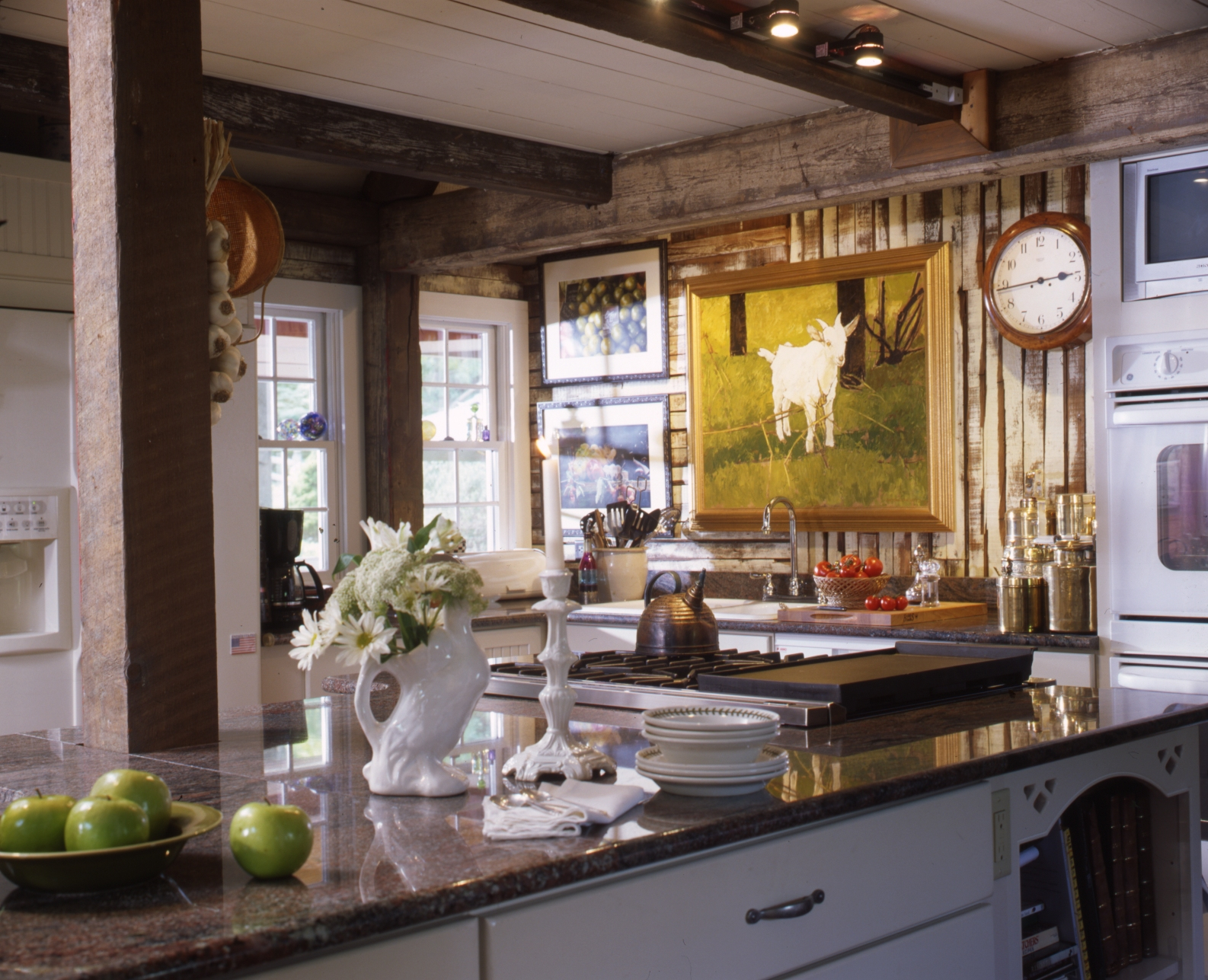 French country kitchen images