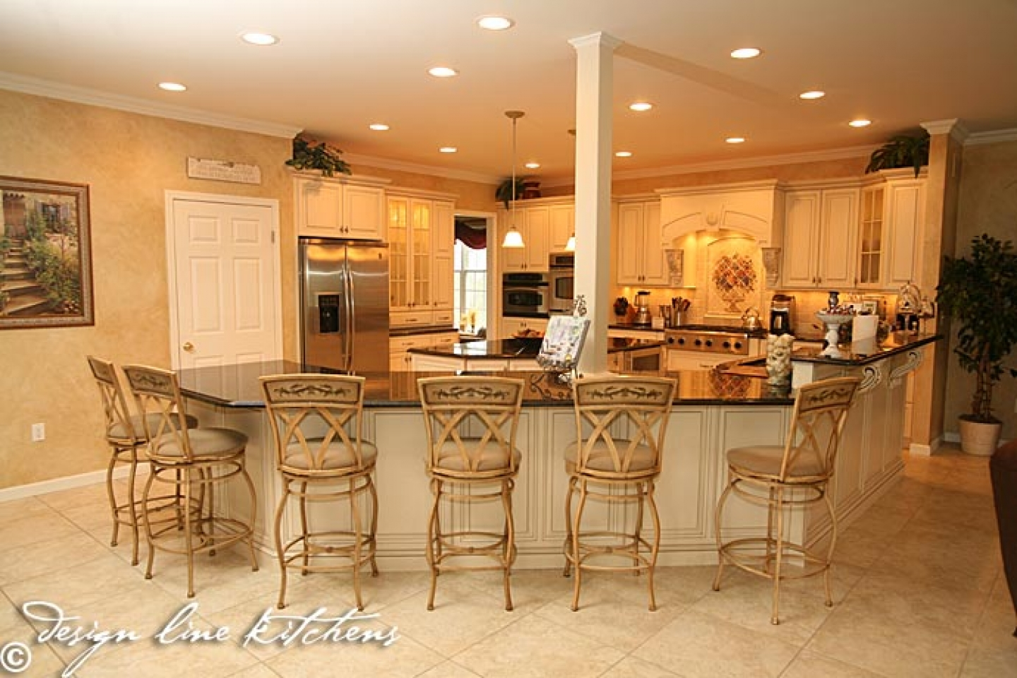 French country kitchen island furniture
