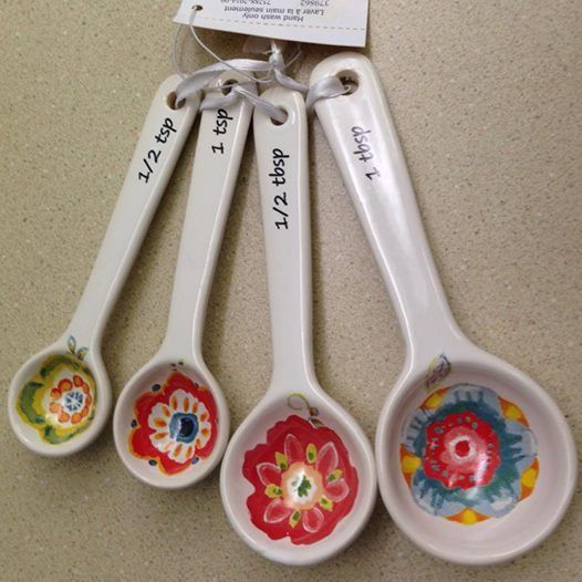 French country kitchen Measuring Spoons