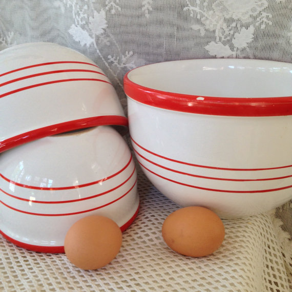 French country kitchen Mixing Bowls