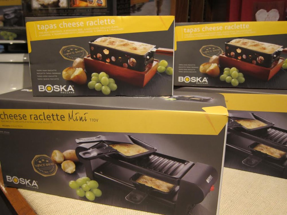 French country kitchen Raclette Grill