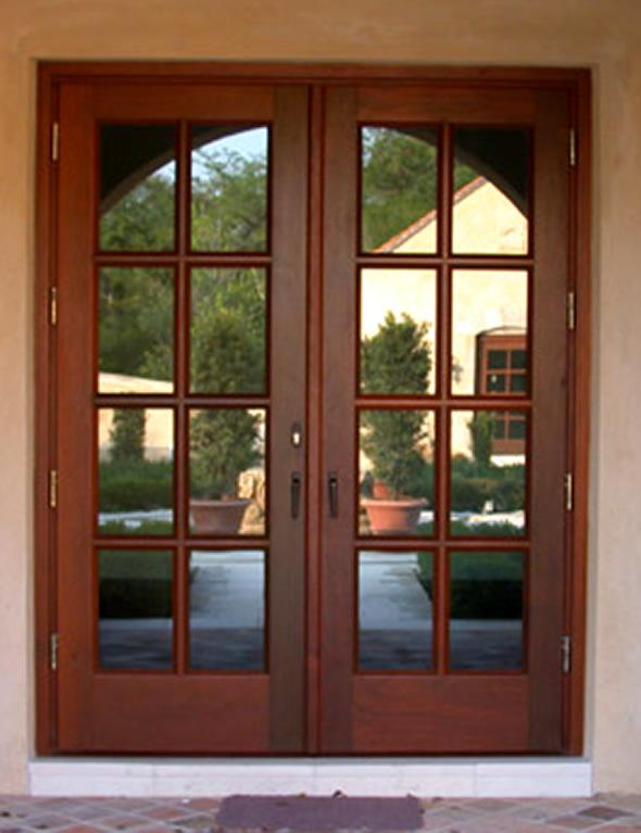 Double Doors Exterior Glass B Q External Wooden Doors Front Entry