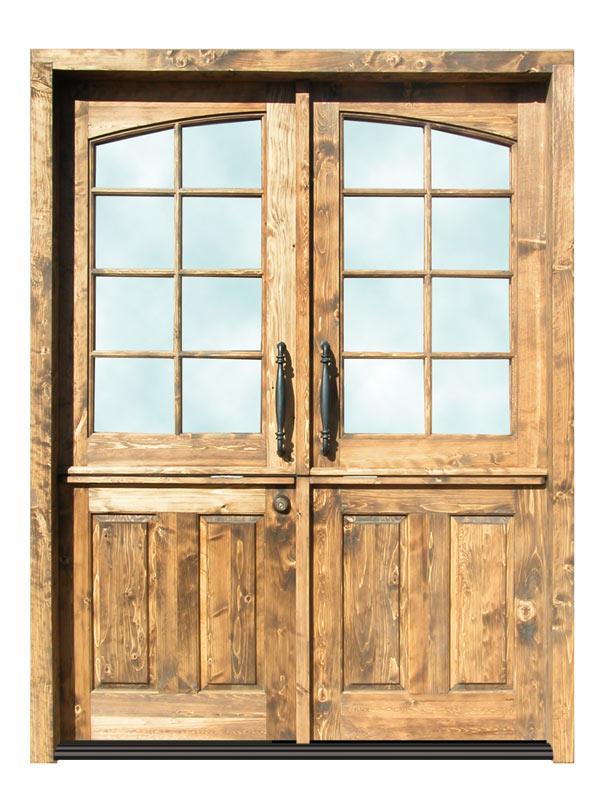 French Dutch Door