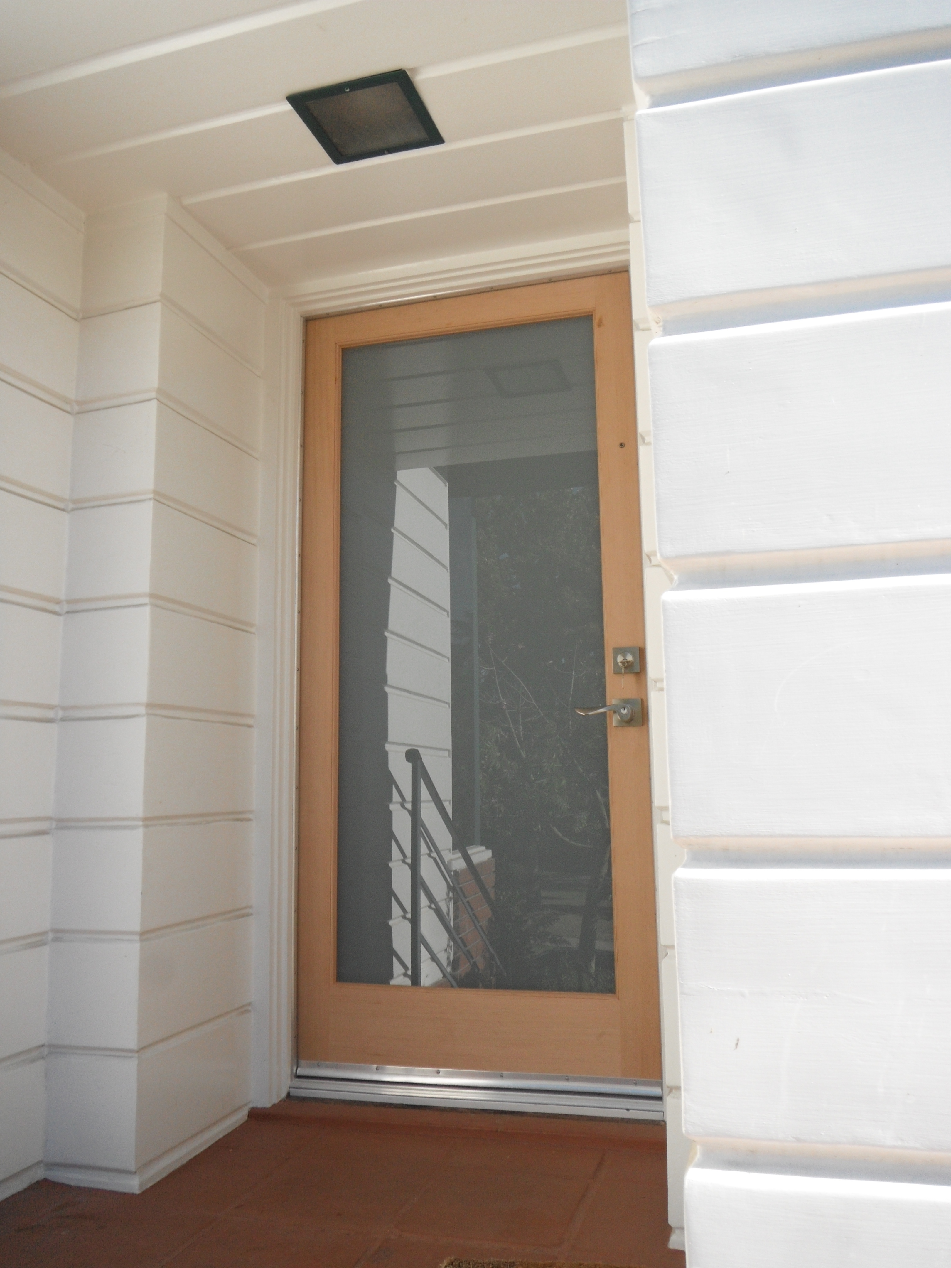 Single exterior glass doors for Front doors with glass panels
