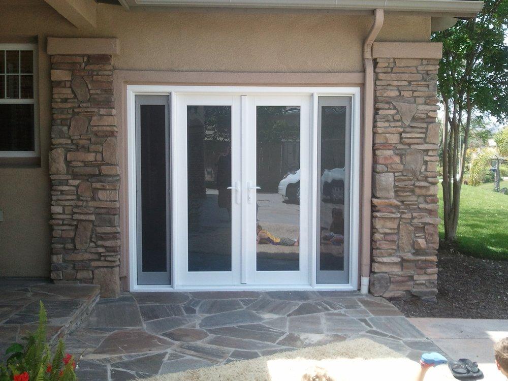 French garage door opener design and ideas for French garage doors