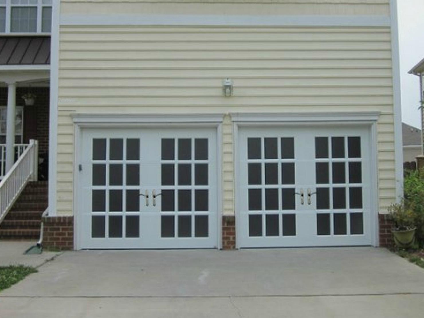 French Garage Door