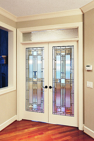 French Glass Door