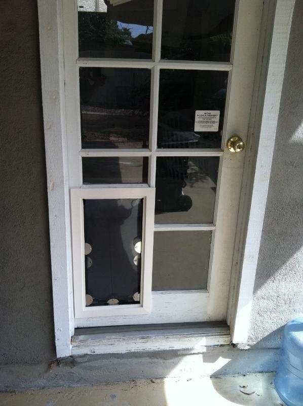 French Pet Door Photo   2