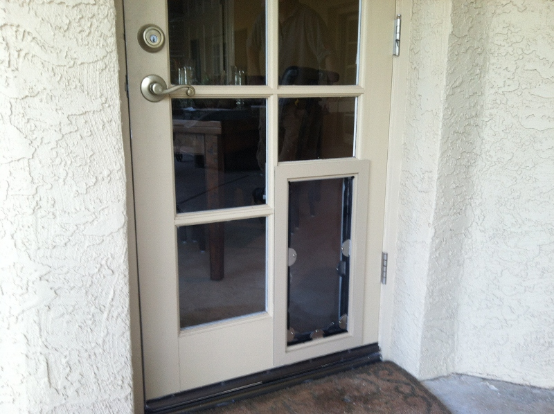 French Pet Door