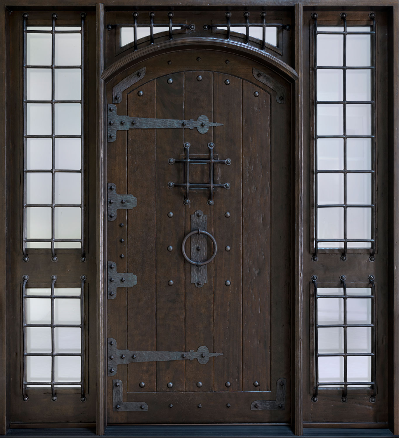 French Steel Entry Door