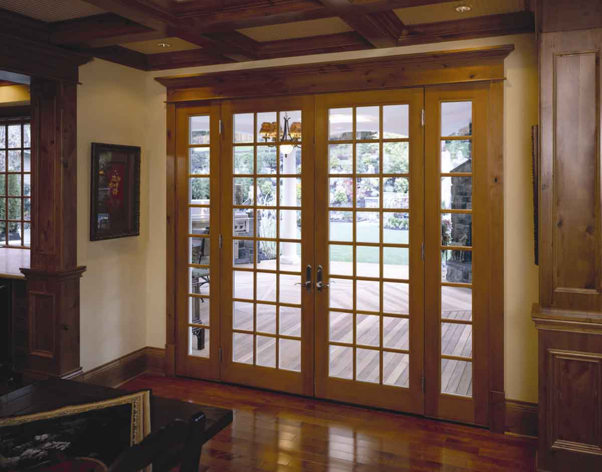French Wooden Door