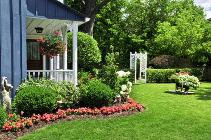 Front Yard Landscaping Ideas For Small Homes Part - 20: Front Yard Landscaping Ideas And Pictures