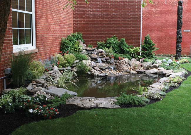 Garden Pond Kit Design And Ideas