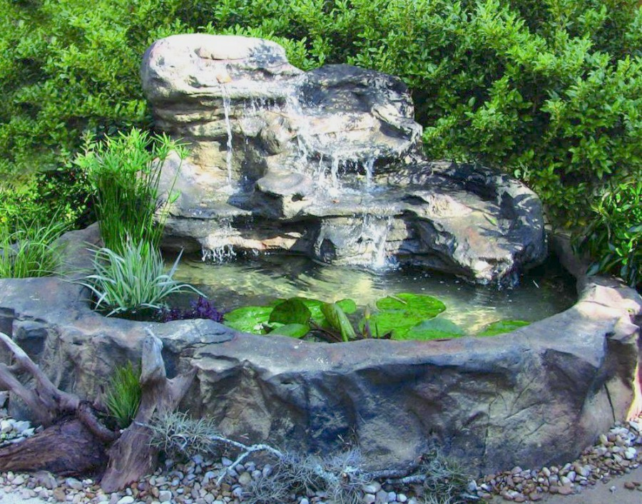 Ponds lovely indoor ponds and waterfalls for your home for Garden pond supplies