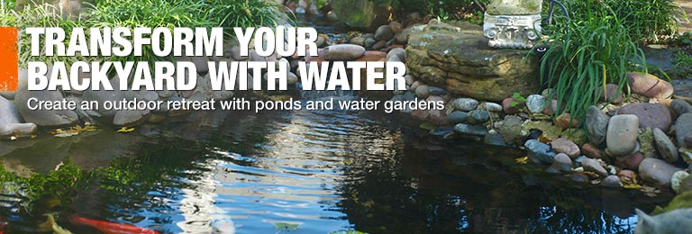 garden pond kits home depot