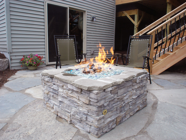 Gas Outdoor Fire Pit Diy Design and Ideas