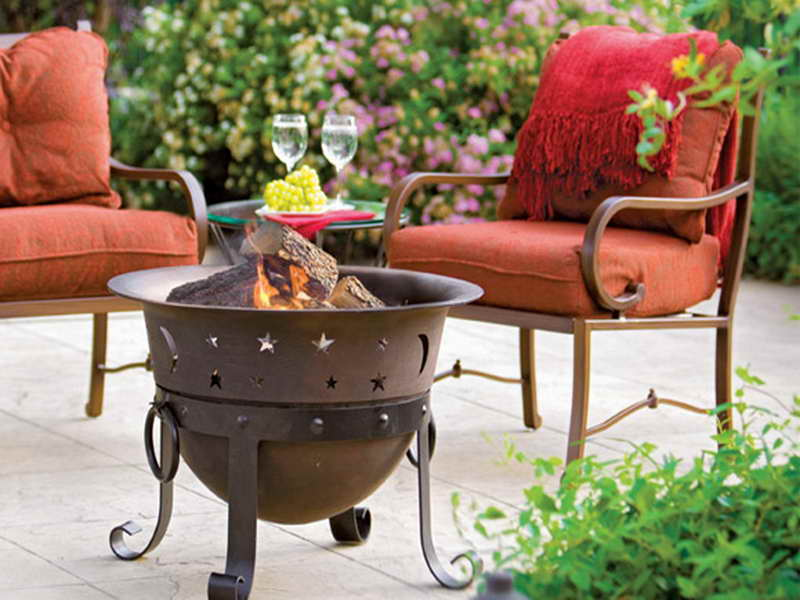Gas Outdoor Fire Pit Home Depot Design and Ideas