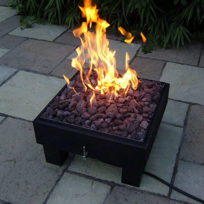 gas outdoor fire pit uk