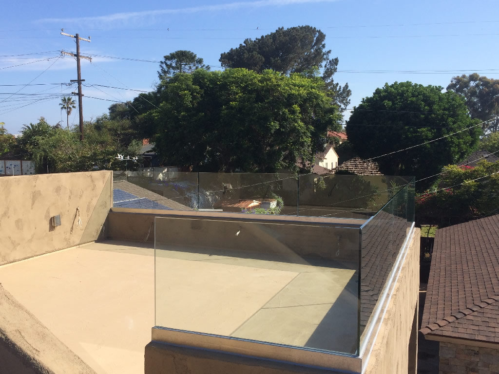 glass deck railing san diego  photo - 2