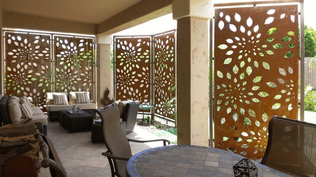 ideas for patio privacy screens  photo - 2
