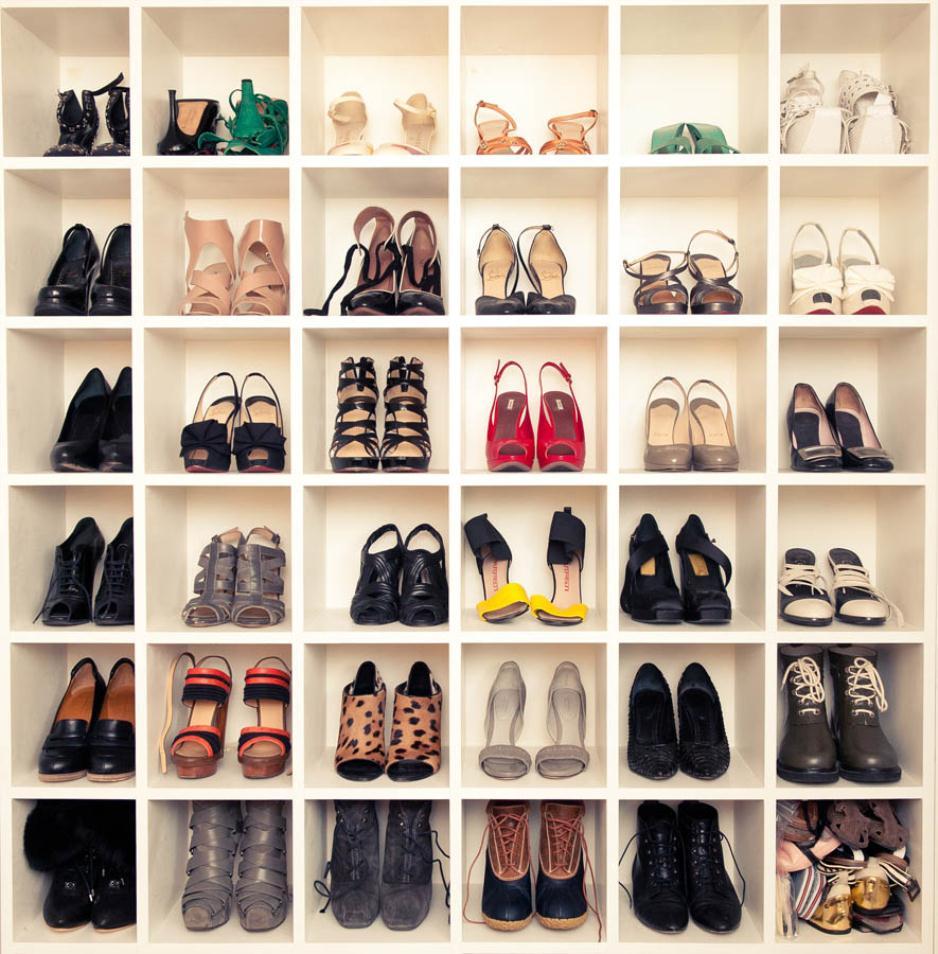 Ideas For Shoe Closet