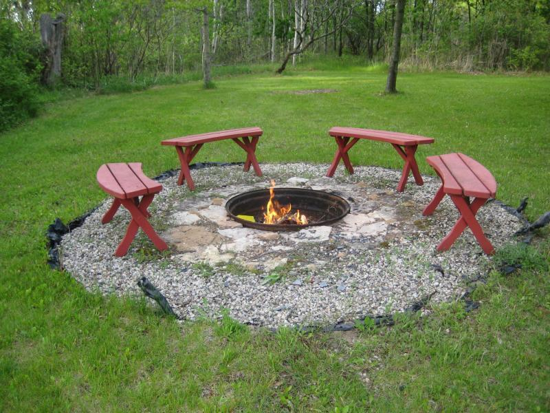 Marvelous In Ground Backyard Fire Pit